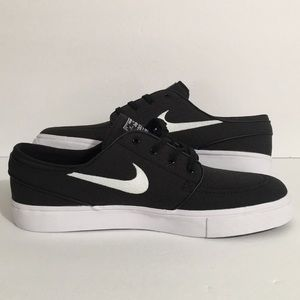 Nike Shoes - Nike SB Zoom Stefan Janoski Canvas Black Size 10